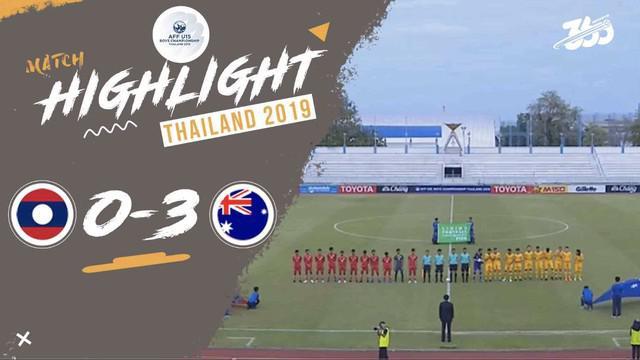 Berita video highlight Australia menang 3-0 atas Laos di Piala AFF U-15 2019, Selasa (30/7/2019).