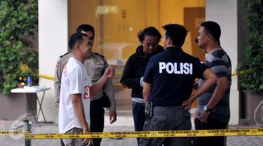 20151101-Kantor GoJek ditembak-Jakarta