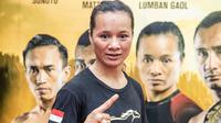 Petarung ONE Championship asal Indonesia, Priscilla Hertati Lumban Gaol. (dok: ONE Championship)