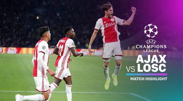 Berita video highlights Liga Champions 2019-2020 antara Ajax melawan Lille yang berakhir dengan skor 3-0, Selasa (17/9/2019).