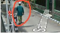 Penampakan di Google Street View bikin penggunanya baper. (Sumber Foto: poloreza89)