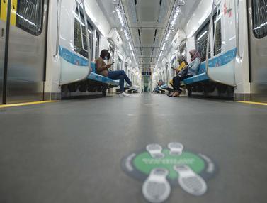 Layanan MRT Jakarta Kembali Normal