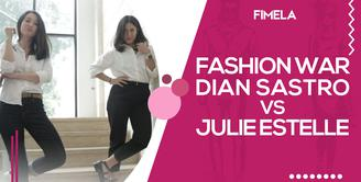 Fashion War Dian Sastro Vs Julie Estelle