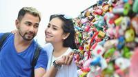 Raffi Ahmad dan Nagita Slavina liburan ke Korea Selatan [foto: instagram/pratamaputrada]