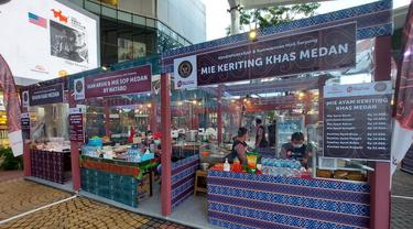 Kemenparekraf gelar pekan raya produk kreatif dan kuliner Sumatera Utara bertajuk Beli Kreatif Danau Toba (BKDT) dan Pesona Kuliner Danau Toba (PKDT) di Summarecon Mall Serpong (SMS).