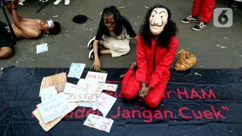 FOTO: Aksi Keprihatinan Darurat Pemberantasan Korupsi