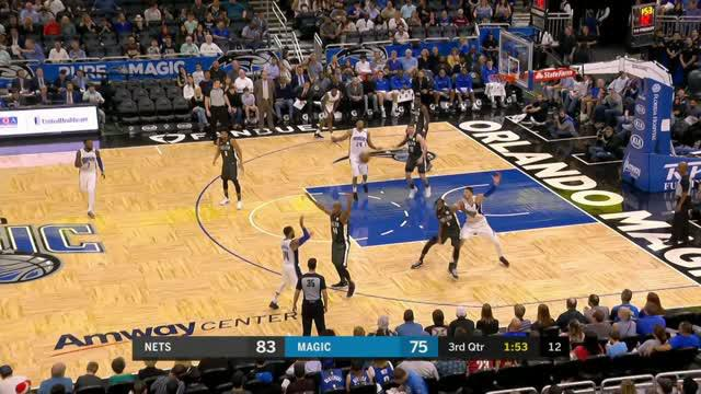 Berita video game recap NBA 2017-2018 antara Brooklyn Nets melawan Orlando Magic dengan skor 111-104.