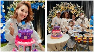 6 Momen Perayaan Ulang Tahun Ayu Ting Ting ke-29, Digelar di Hotel Berbintang