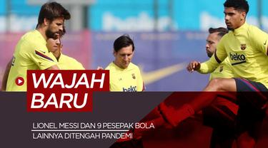 Wajah Baru Pesepak Bola. (Bola.com/Dody Iryawan)