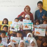 Sayap Dewantara (Sadewa) membantu anak-anak di berbagai daerah untuk mendapatkan pendidikan yang lebih baik. (dok. Sadewa)
