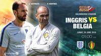 Prediksi Inggris vs Belgia (Liputan6.com/Trie yas)