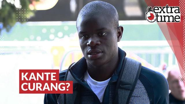 Berita video Extra Time kali ini untuk menyambut Piala Eropa, mari kita flashback ke momen di mana N'Golo Kante pernah disebut bermain curang oleh rekan-rekannya di Timnas Prancis.