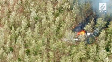Sebuah pesawat terjatuh di Kosta rika, akibatnya 10 turis asal AS tewas.