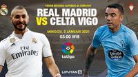 Prediksi Real Madrid vs Celta Vigo. (Liputan.com/Triyasni)