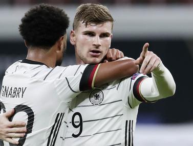 Timo Werner Borong 2 Gol, Jerman Taklukkan Ukraina