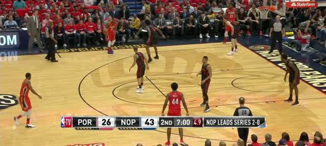 Berita video game recap NBA 2017-2018 antara New Orleans Pelicans melawan Portland Trail Blazers dengan skor 119-102.