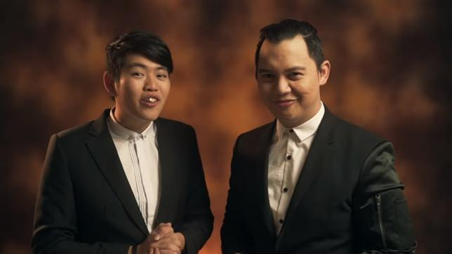 Chandra Liow dan rekannya, Tommy Lim./copyright Youtube/Tim2One