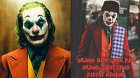 Kutipan Film Joker ala Warganet (Sumber: Twitter/