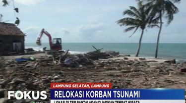 Sementara itu, lokasi permukiman yang berada di tepi pantai yang terkena dampak tsunami akan dijadikan tempat wisata karena memiliki potensi dan pemandangan laut yang indah.