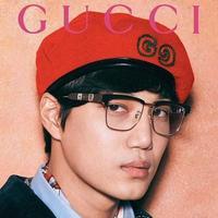 Gucci gandeng Kai EXO untuk kampnye koleksi koleksi kacamata terbarunya