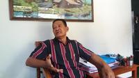 Juru bicara keluarga Merry Utami, Priyono (Liputan6.com/ Reza Kuncoro)