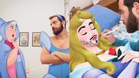Edit Fotonya dengan Karakter Disney (Sumber: Instagram/luigi.kemo)