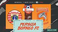 Shopee Liga 1 - Persija Jakarta Vs Borneo FC (Bola.com/Adreanus Titus)