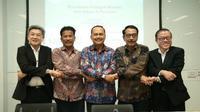 "Dialog bisnis ""Roundtable Dialoque Session with Batam Authorities"" pada Selasa 26 Februari 2019. (Foto: Liputan6.com/Ajang Nurdin)"