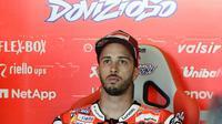 Pembalap Ducati asal Italia, Andrea Dovizioso. (AFP/Javier Soriano)