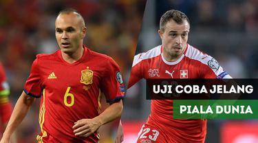 Berita Video Spanyol Vs Swiss, Iniesta Cs Jalani Uji Coba Jelang Piala Dunia 2018