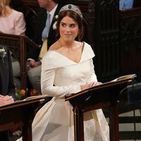 Putri Eugenie - Jack Brooksbank resmi menikah. (Jonathan Brady / POOL / AFP)