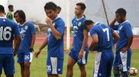 Para pemain seleksi Persib Bandung (Foto: Kukuh Saokani/Liputan6.com)
