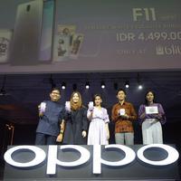 OPPO dan INSTAX Kolaborasi Hadirkan F11 Jewelry White Exclusive Bundling Package Spesial di Bulan Ramadan. (Istimewa)