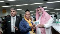Pemerintah Saudi memberi layanan kemudahan imigrasi jemaah haji Indonesia di Bandara Soetta.
