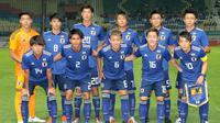 Timnas Jepang U-21 yang tampil di Asian Games 2018. (Bola.com/Dok. JFA)