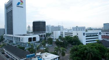Gedung Pusat PT Pertamina (Persero). (Istimewa)