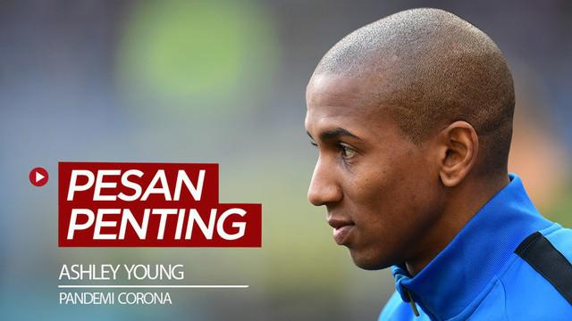 Berita video sebuah pesan penting dari dua pemain klub Serie A, Ashley Young dan Lorenzo Insigne, terkait pandemi Corona.