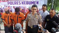 Tiga orang ditetapkan sebagai tersangka tindak pidana korupsi dana desa, Candiwulan, Kebumen.  (Foto: Liputan6.com/Polres Kebumen/Muhamad Ridlo).