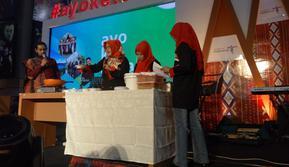 Ikan Arsik goda Sales Mission #AyoKeToba edisi Makassar. (foto: dok. Kemenpar)