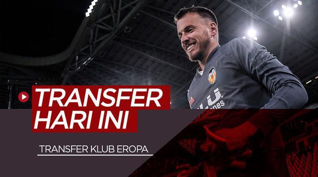 Berita video transfer-transfer pemain klub besar Eropa yang terjadi pada hari ini, Kamis (27/6/2019). Siapa saja selain Neto yang digaet Barcelona?