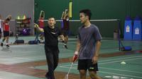 Tim bulutangkis Indonesia bersiap untuk Olimpiade 2020. (Media PBSI).