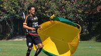Pemain Persipura Jayapura, Addison Alves. (Bola.com/Iwan Setiawan)