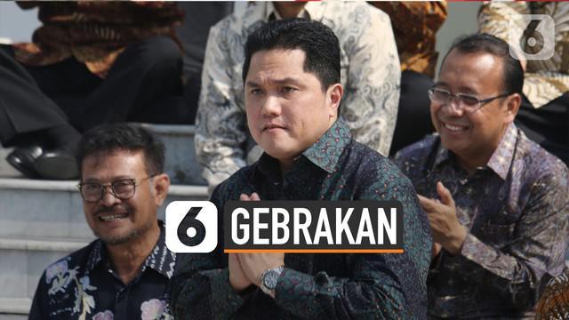 Terhitung sebulan lebih Erick Thohir jadi Menteri BUMN. Namun ia dinilai menghasilkan kinerja baik.