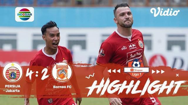 Babak Penyisihan #ShopeeLiga1 yang mempertemukan #Persjia Jakarta vs #Borneo FC pada hari Senin sore (11/11/2019) berakhir dengan ...