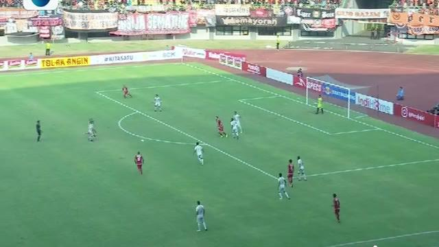 Laga lanjutan Shopee Liga 1, Persija jakarta  vs PSS Sleman  berakhir  1-0 #shopeeliga1  #persija jakarta #pss sleman