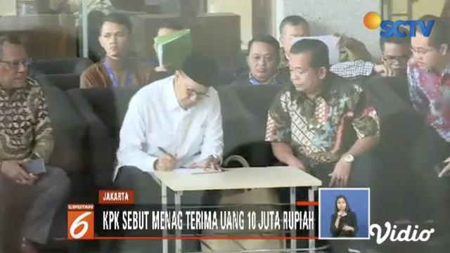 KPK panggil Menteri Agama Lukman Hakim jadi saksi kasus dugaan jual beli jabatan yang menjerat Romahurmuziy.