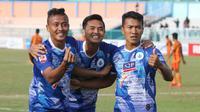 PSCS Cilacap menjinakkan Persiraja 3-2 pada lanjutan Liga 2 2019 di Stadion Wijayakusuma Cilacap, Kamis (8/8/2019). (Bola.com/Gatot Susetyo)