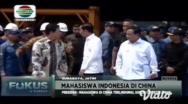 Mahasiswa asal Lumajang, Jawa Timur yang menempuh pendidikan di China masih berada di sekitar kampus di tengah merebaknya virus corona dan kebijakan isolasi dari negara tirai bambu tersebut.