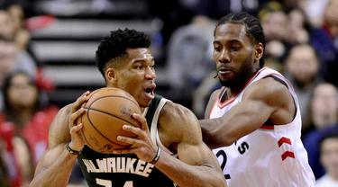 Milwaukee Bucks vs Toronto Raptors (Frank Gunn/The Canadian Press via AP
