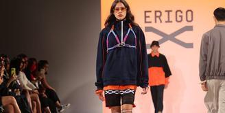 Brand fashion lokal Erigo berkolaborasi dengan Shopee untuk menghadirkan koleksi dari lini Erigo X di panggung New York Fashion Week Spring/Summer 2022. Foto: Document/Erigo.